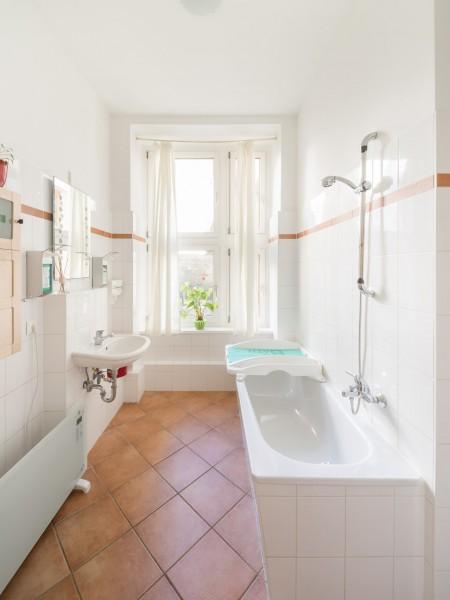 Badezimmer der Osteopathie Praxis